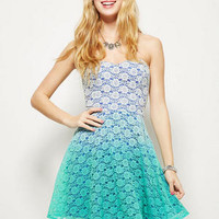 Ombre Lace Dress