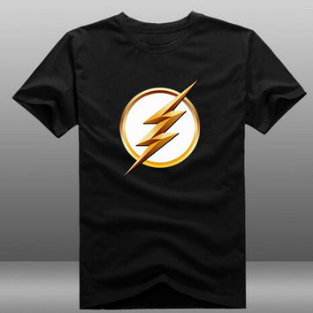 TV Series The Flash Zoom Logo T-shirt 6 Colors