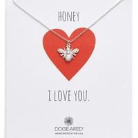 Dogeared 'Honey Bee' Pendant Necklace (Nordstrom Exclusive) | Nordstrom