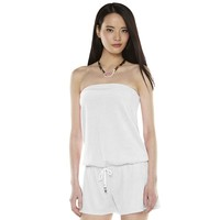 Juicy Couture Strapless Cover-Up Romper - Women's, Size: