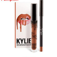 New 5 Color Pumpkin Quality Copper Creme Shadow Rose Gold Metallic Gel Eyeshadow Birthday Edition Kyli Cosmetics lip kit