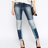 Esprit Patchwork Jean at asos.com