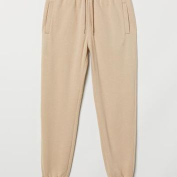 Sweatpants - Light beige - Men | H&M US