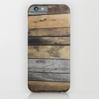 Planks iPhone & iPod Case by KJ Designs