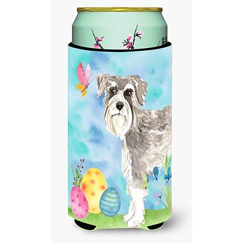 Easter Eggs Schnauzer #1 Tall Boy Beverage Insulator Hugger CK1903TBC