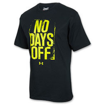 Men's Under Armour No Days Off Tee Shirt