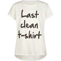 Full Tilt Last Clean Girls Tee White  In Sizes