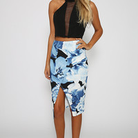 Arctic Lovers Skirt - Floral