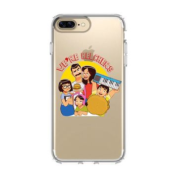 BOB'S BURGERS TINA BELCHER 1 iPhone and Samsung Galaxy Clear Case