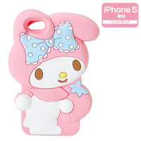 My Melody Shaped iPhone 5 Silicone Soft Type Cover Case SANRIO