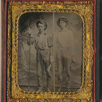 Plumbers occupational Tintype sixth plate