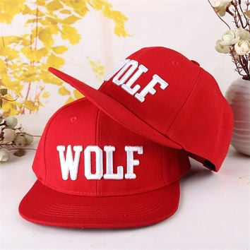 EXO WOLF Visors cowboy cap baseball cap hip-hop cap sun hat peaked cap casquette sunbonnet NEW 2015 HOT SELL SUMMER AND SPRING