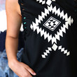Black Navajo Muscle Tee