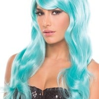 Burlesque Wig Light Blue