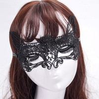 Nightclub Cosplay Sexy Fancy Lady Butterfly Kitty Cat Mask Carnival Christmas Halloween Costume Masquerade Mask ball Rave party