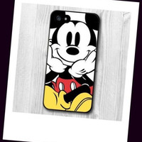 Mickey Mouse character SELFIE cell phone case for iPhone 6s 6S 6 fast shipping