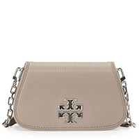 Tory Burch Britten Mini Crossbody Bag Leather TB Logo
