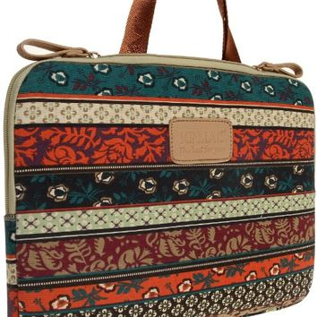 Kinmac New Bohemian Laptop Sleeve 13 Inch with handle for Macbook Pro 13/macbook Air 13 and 13.3 Inch Dell / Hp /Lenovo/sony/toshiba/ausa Laptop Bag Acer/samsun/thinkpad Laptop Case with Straps