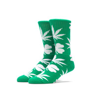 HUF - HUF ST. PATRICK'S DAY CREW SOCK // GREEN / WHITE