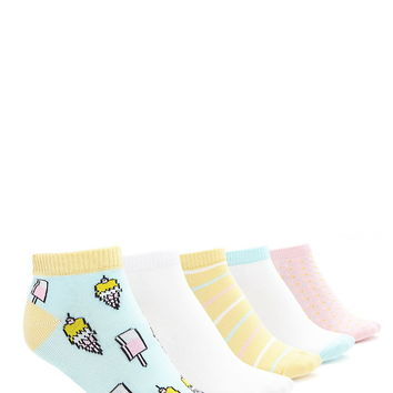 Ice Cream Sock Set