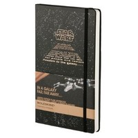 Moleskine Star Wars Limited Edition Notebook, Large, Plain, Black, Hard Cover (5 x 8.25) (Limited Editions)