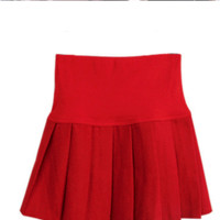 FREE SHIP- Pleated Winter Skirt