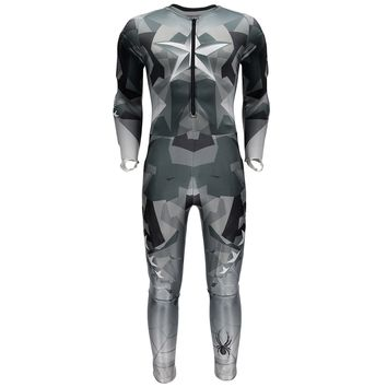 Spyder Mens Performance GS Race Suit: Black Camo Print