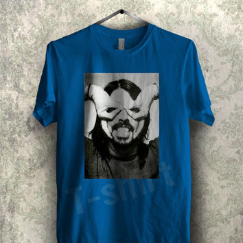 Dave Grohl tee - 144 Unisex T- Shirt For Man And Woman / T-Shirt / Custom T-Shirt / Tee