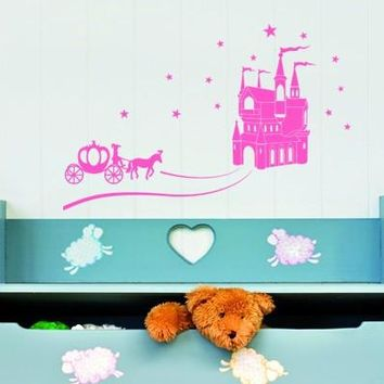 Cinderella Wall Decal