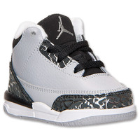 Boys' Toddler Air Jordan Retro 3 Basketball Shoes