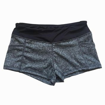 Solid Color Skinny Tight Running Short Women S-XL Quick Dry Sport Cool Female Fitness Jogging Shorts