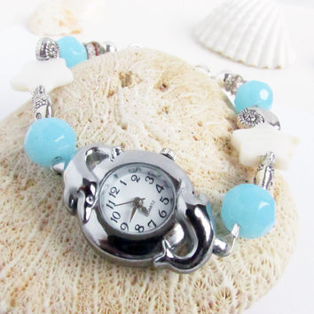 Dolphin Wrist Watch for the Beach Lover