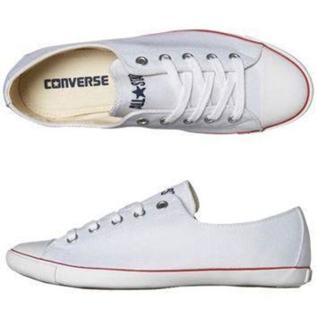 QIYIF converse chuck taylor light ox shoe optical white