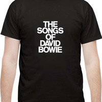The Songs Of David Bowie Mens T Shirt