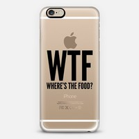 WTF - Where's the Food? iPhone 6 case by CreativeAngel | Casetify
