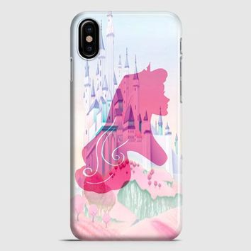 Silhouettes Of Princess Aurora iPhone X Case