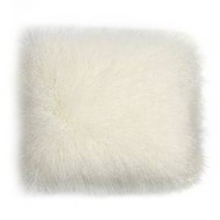 Faux Fur Throw Pillow - White - Room Essentials™