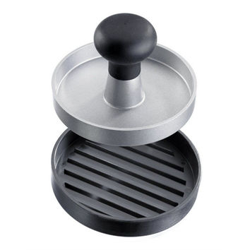 Heavy Duty Non-Stick Quarter Pounder Burger Maker Hamburger Presses  Patties Maker Aluminum  Round