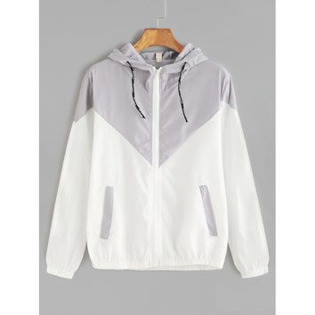 City Sky Hooded Jacket - Multi