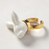 Bunny Bust Ring
