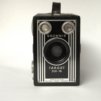 Vintage Brownie Camera, Target Six- 16 Vintage Camera, From  Gifts for Photographers, Mid-Century Camera Home Decor