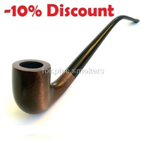 """LORD of the RINGS Churchwarden Pipe Extra-Long Tobacco Smoking Pipes 250mm/9.8"""" Wooden Handmade 233 Hobbit and Gandalf Style"""