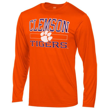 Clemson Tigers Structured Long Sleeve T-Shirt – Orange