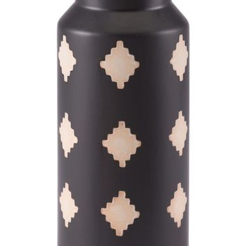 Pampa Bottle Md Black & Beige