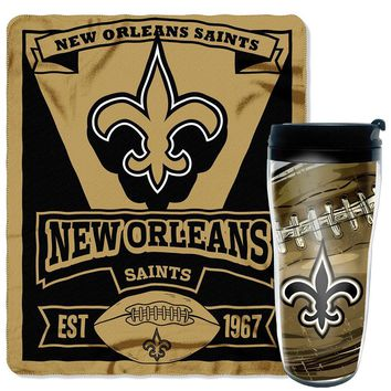 New Orleans Saints NFL Mug 'N Snug Set