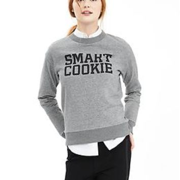 """Smart Cookie"" Graphic Sweatshirt"