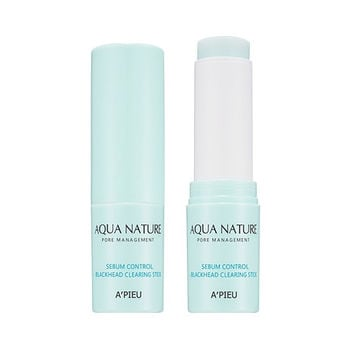 A'PIEU Aqua Nature Sebum Control Blackhead Clearing Stick