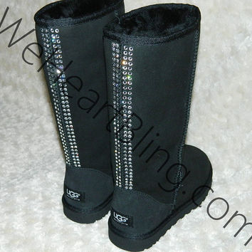100 Genuine Swarovski Crystal UGG Boots by WeHeartBling on Etsy