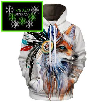 Wicked Apparel Soul Fox Hoodie By Pixie cold #221