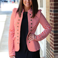 Knock Out Blazer {Tomato}
